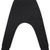 spodnie dziecięce unisex czarne przód