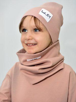 dziecięca czapka i komin