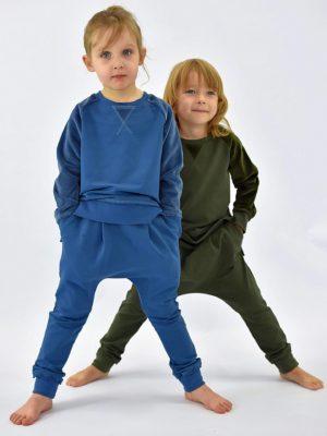 spodnie dziecięce indygo