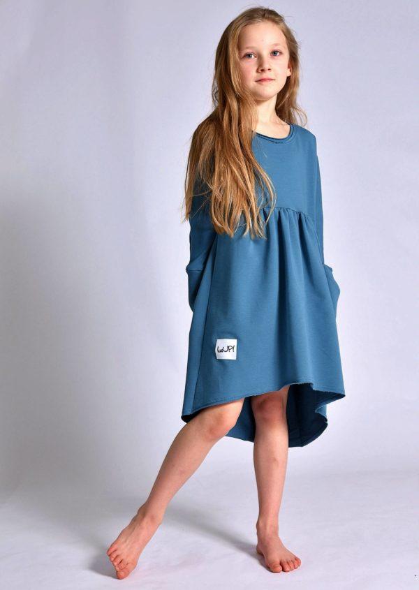 dziewczęca sukienka blue stone